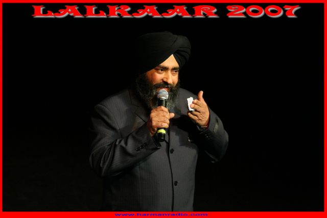Charnamat Singh at Harman Radio Function in 2007
