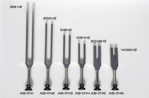 Tuning forks frequency