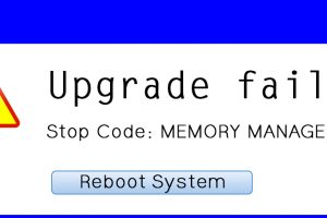 Upgrade Failure